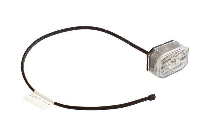 Lampă gabarit pentru remorci auto - Aspöck Flexipoint alb 0,5m/12V
