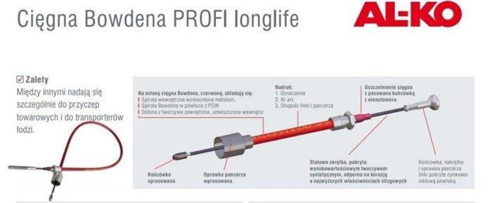 Cablu de frână Bowden AL-KO 770/966