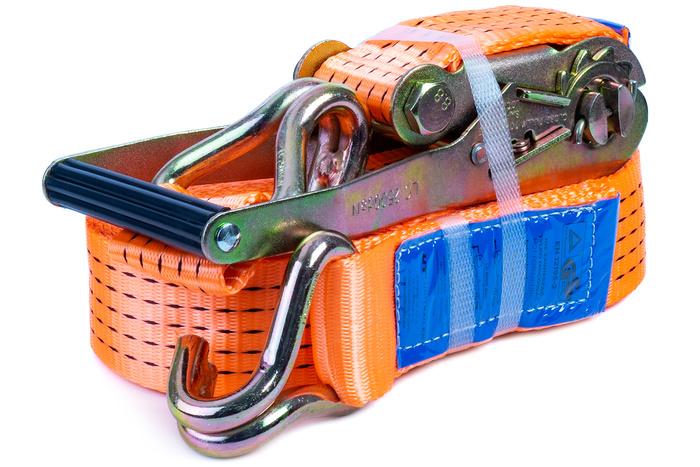 Chingă ancorare cu clichet 10 m/50 mm/5 t