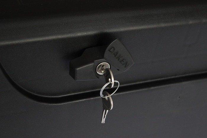 Cutie unelte Daken BLACKIT 550 cu broască unică și cu mânere