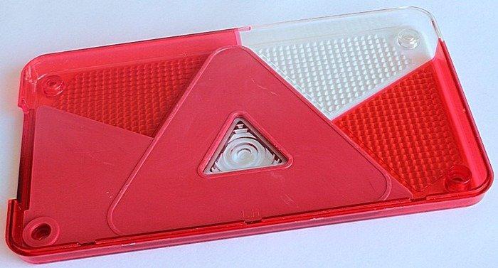 Dispersor pentru lampa spate Multipoint V stângă