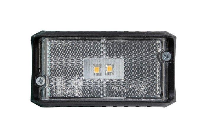 Lampă gabarit cu LED albă DPT15 cu cablu