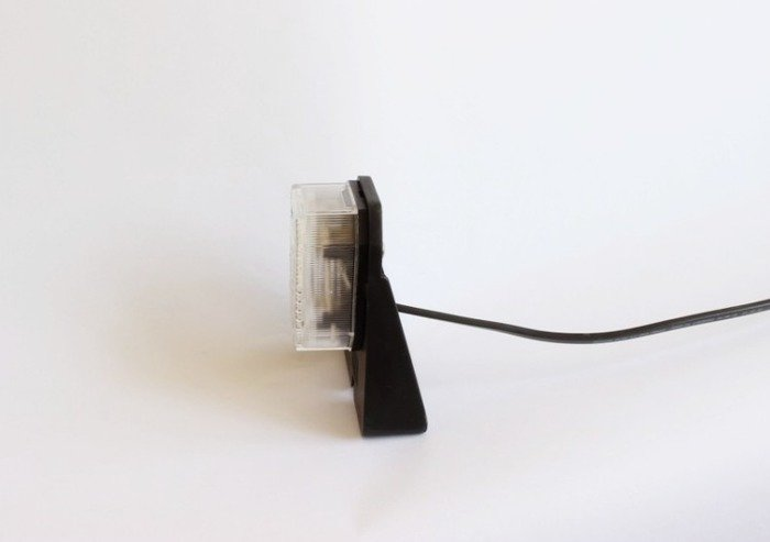 Lampă gabarit pentru remorci auto  Aspöck Flexipoint white 0,5m
