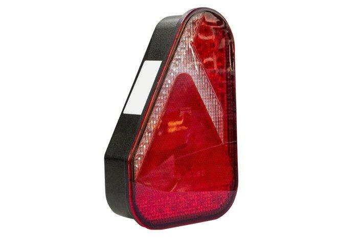 Lampă spate Aspöck Earpoint LED cu 5 pini - STÂNGĂ
