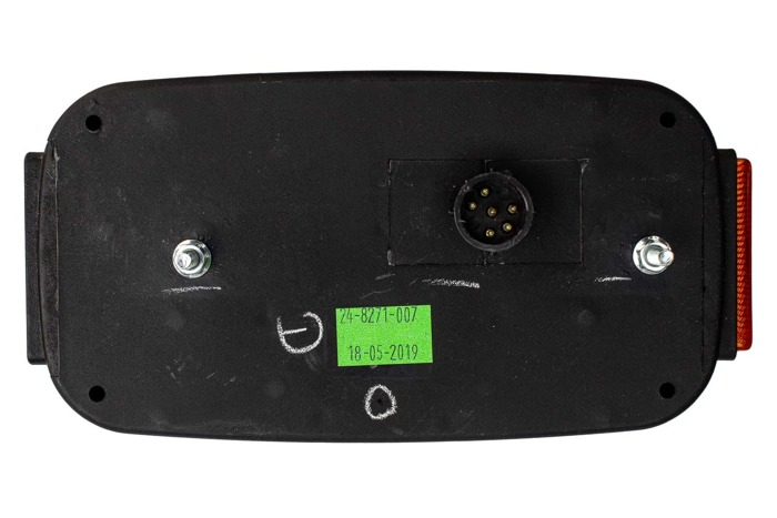 Lampă spate combinată pentru remorci Aspöck Multipoint III 8-pin dreaptă