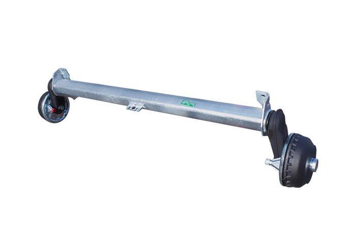 Osie cu frână pentru remorci AL-KO 1300 mm 1350 kg 5x112