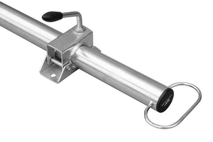 Picior de sprijin  cu clemă pentru remorci Unitrailer 60 cm -  48 mm diametru