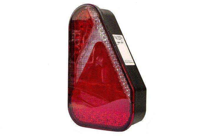 SET 2X: Lampă spate combinată Aspöck Earpoint LED cu 8 pini - STÂNGĂ+DREAPTĂ