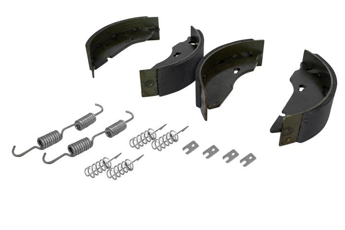 Saboți frână pentru axele AL-KO cu un kit de arcuri 160x35
