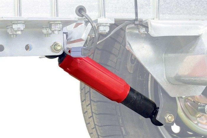 Set: 2 amortizoare pentru remorci auto AL-KO Octagon roșii 1800 - 3500 kg