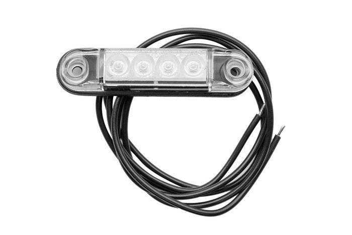 Set 4 lămpi cu LED-uri albe Horpol SLIM