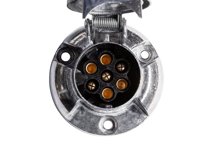 Ștecăr din metal cu 7-pin / 12V