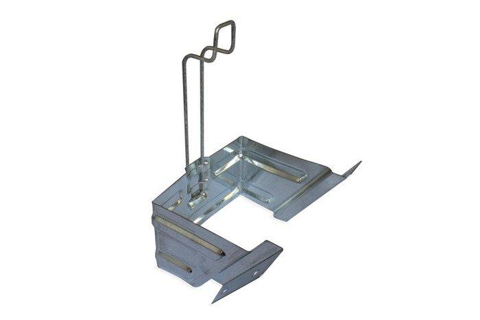 Suport pentru cale roți E53 din oțel galvanizat